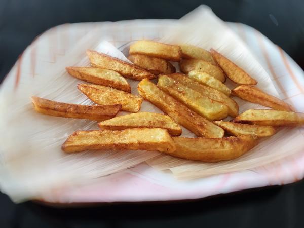 自制健康零食~炸薯条的做法