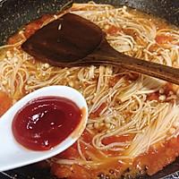 #餐桌上的春日限定# 番茄金针菇烧日本豆腐!超下饭!的做法图解8