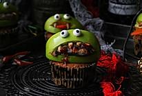 万圣节绿怪金枪鱼小恶魔蛋糕的做法