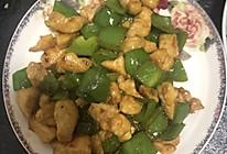 青椒炒鸡丁的做法