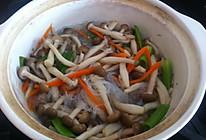 蟹味菇粉丝煲的做法