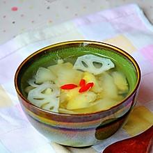 梨藕百合汤