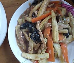 鱼香玉米笋的做法
