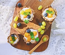 燕麦水果挞—低卡瘦身早餐#秋天怎么吃#的做法