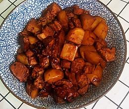 好吃不腻土豆炖肉的做法