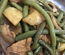 猪肉炖豆角的做法