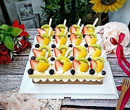 甜蜜的年味:幸福快乐水果蛋糕~的做法