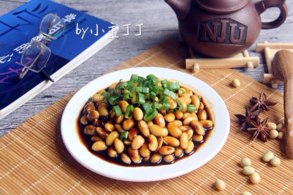 清爽开胃的【五香黄豆】的做法