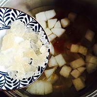 桃胶雪梨百合枸杞糖水#做道好菜,自我宠爱!#的做法图解10