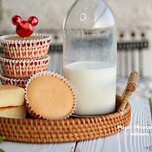 #快手又营养,我家的冬日必备菜品#宝宝版低糖酸奶纸杯蛋糕
