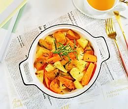 #福气年夜菜#低卡美味~做法简单~烤蔬菜
