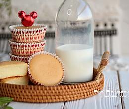 #快手又营养,我家的冬日必备菜品#宝宝版低糖酸奶纸杯蛋糕的做法