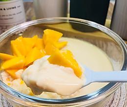 滑嫩好吃还易做的芒果双皮奶的做法