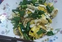 煎葱荷包蛋的做法