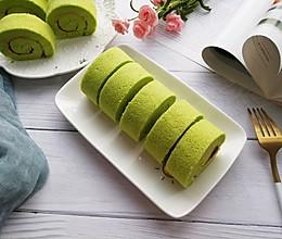 菠菜蛋糕卷的做法