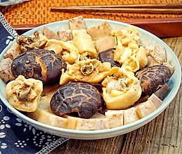 香芋花菇蒸滑鸡#给老爸做道菜#的做法