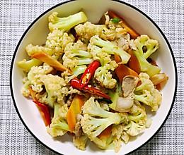 肉炒菜花的做法