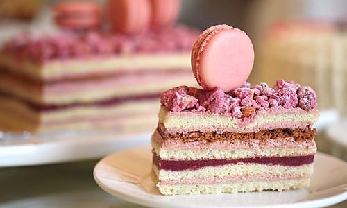 小山进的覆盆子蛋糕的做法