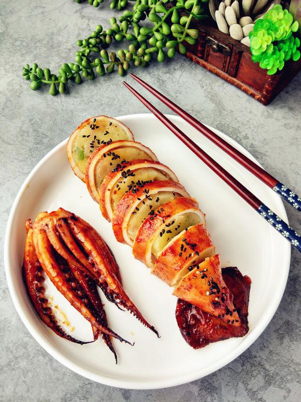 香辣鱿鱼烤土豆泥的做法