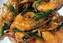 鲍汁焖虾的做法