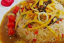 绝对美味……咖喱酱汁炒饭的做法