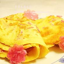 健康早餐--萝卜玉米饼
