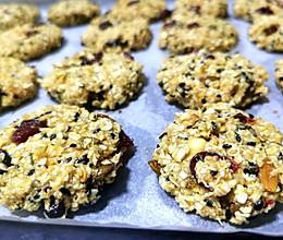 燕麦蔓越莓饼干的做法