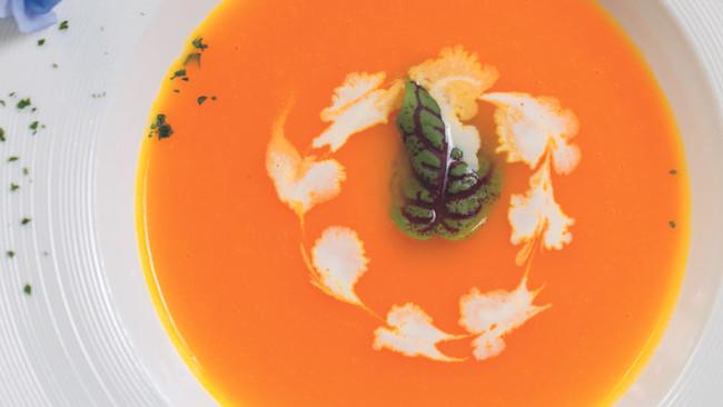 奶油南瓜汤的做法