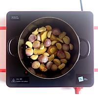 香芋排骨啫啫煲的做法图解3