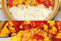 #巨下饭的家常菜#简单美味❗️好吃到舔盘的番茄炒蛋拌饭的做法