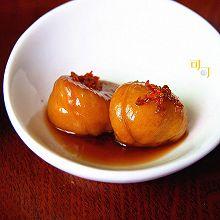 桂花糖水煮栗子:桂花蒸