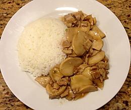 蠔油杏鲍菇配饭的做法