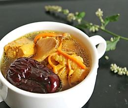 虫草花煲鸡汤—冬季养生的做法
