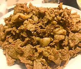 新疆炒烤肉·轻松炒出羊肉串的味道的做法
