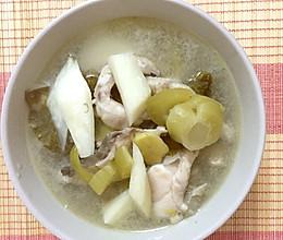 冬日暖心·脆肉皖鱼片汤的做法
