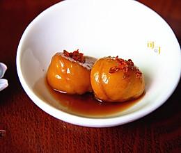 桂花糖水煮栗子:桂花蒸的做法