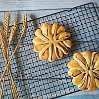 枣花形豆沙面包的做法图解9
