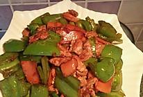 肉炒菜椒-杨姑娘的做法