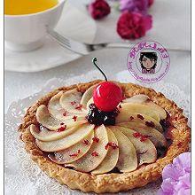 焦糖苹果蓝莓塔