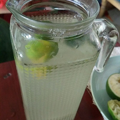 自制柠檬水