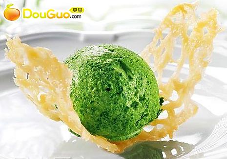 菠菜冰激凌的做法