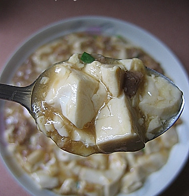 肉碎煮豆腐