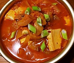 美味泡菜汤的做法
