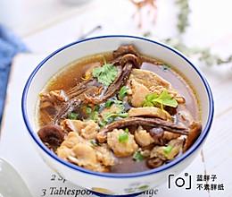 鹿茸菇鸡汤的做法