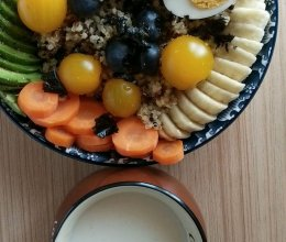 健康营养餐的做法