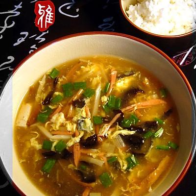 鲜香酸辣汤