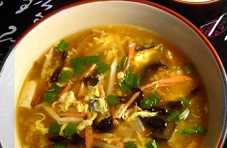 鲜香酸辣汤的做法