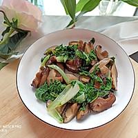 香菇炒青菜的做法图解6