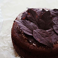 落叶古典巧克力蛋糕——好吃到让人尖叫的做法图解13