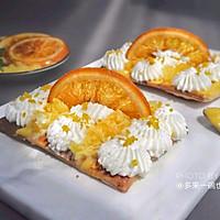橙光脆饼(饺子皮版)